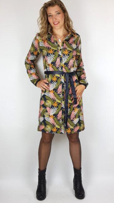mooi-vrolijk-jurk-blouse-flashy-feathers