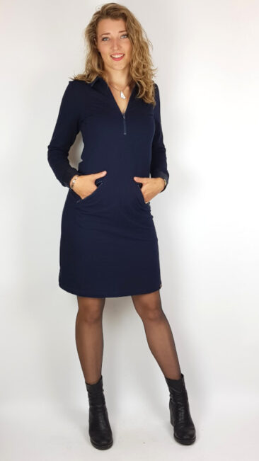 mooi-vrolijk-jurk-zipper-polo-dark-blue