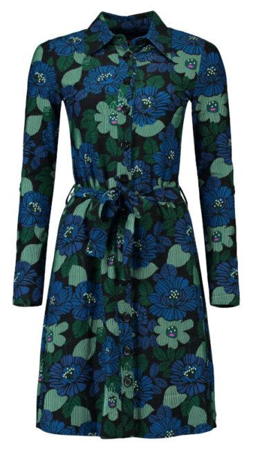 tante-betsy-jurk-shirt-dress-forest-ink