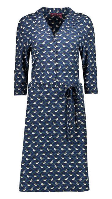 bakery-ladies-jurk-marcia-polo-dark-blue