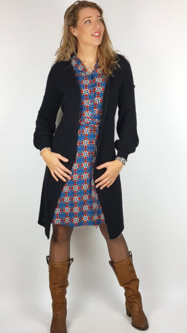 bakery-ladies-jurk-marcia-polo-sapphire-tante-betsy-lang-vest-fluffy-black