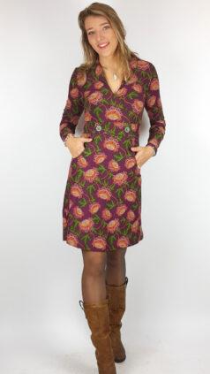bakery-ladies-jurk-sandy-wrap-dark-violet