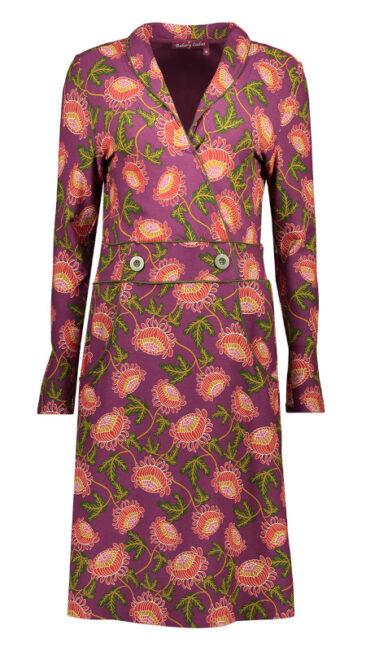 bakery-ladies-jurk-wrap-sandy-dark-violet