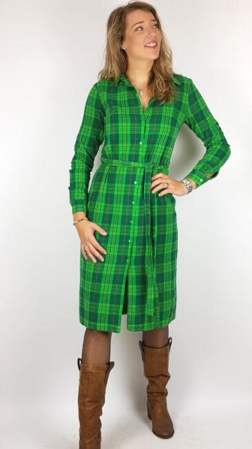 lily-balou-jurk-tartan-green