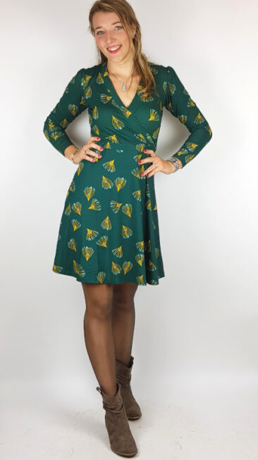 princesse-nomade-jurk-fostine-green