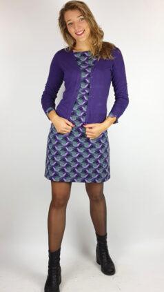 zilch-bamboe-vestje-purple-jurk-short-birds-purple