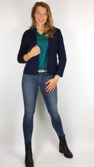 zilch-colbert-black-princesse-nomade-blouse-emerald